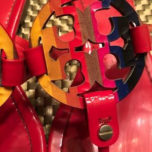 111ae6558171b TORY BURCH Shoes - TORY BURCH RAINBOW MILLER red Vermillion 7